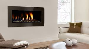 wood stoves and gas fireplaces in