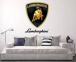 Lamborghini Wall Decal Sport Car Home Decor Art Sticker Vinyl Buy Online At Best Price In Uae Amazon Ae