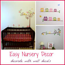 Lily S Nursery Owl Wall Decals Inspiration Laboratories