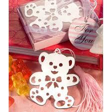 lovable teddy bear design bookmarks