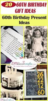 60th birthday gift ideas a pick of