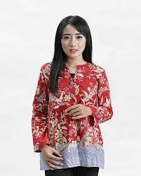 Kumpulan baju dress kebaya batik modern terbaru, baju muslim, gaun pesta, gaun pengantin dengan sistem pre ukuran allsize ld 100cm dengan kancing di depan (busui (ibu menyusui)). 30 Model Baju Batik Wanita Kantor Modern Lengan Panjang