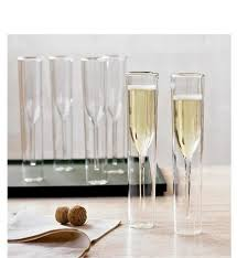 whole glass champagne flutes