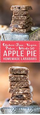 homemade apple pie larabars gluten