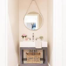 chain hanging bath vanity mirror design
