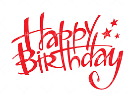 Happy Birthday Png Text Transparent Background Image For Free Download Hubpng Free Png Photos