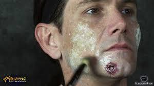 gore makeup using liquid latex how to