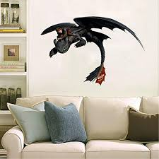 24or 36 How To Train Your Dragon Car Window 3d Wall Decal Sticker 7 18 14 Laptop Handmade Products Home Kitchen