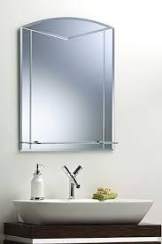 neue design unique arch bathroom mirror