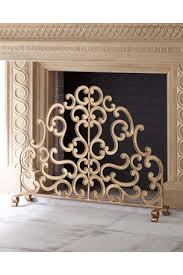 decorative fireplace screens tools at