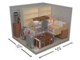10x10 storage unit size guide storage
