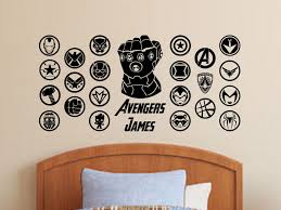 Your Place To Buy And Sell All Things Handmade Superhero Emblems Wall Decals Vinyl Wall Decals