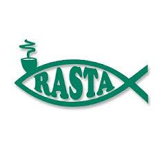 Rasta Fish Vinyl Cutout Window Sticker