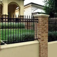 2017 Modern Residential Wrought Iron Fence Design Buy Modern Wrought Iron Fence Design Modern Fences Cheap Fence Designs Product On Alibaba Com