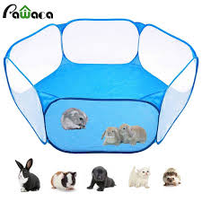 Pet Playpen Portable Pop Open Indoor Outdoor Small Animal Cage Game Playground Fence For Hamster Chinchillas And Guinea Pigs Houses Kennels Pens Aliexpress