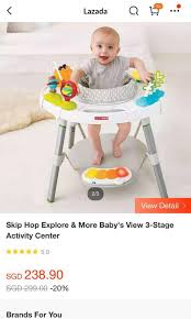 activity centre plus free ikea play rug