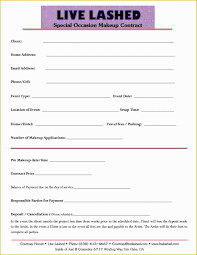 makeup consultation form sle saubhaya