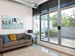 install a sliding glass door