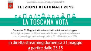 La Toscana vota: diretta streaming Elezioni Regionali 2015 - YouTube