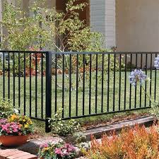 Fencing Fence Materials Supplies At The Home Depot Metal Garden Fencing Backyard Fences Fence Design