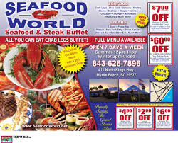 Seafood World Seafood and Steak Buffet ...