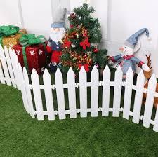 Qoo10 50pcs Christmas Decorations Christmas Tree Fence Pvc Plastic Fence G Furniture Deco