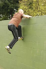 go run up a wall how to do a parkour