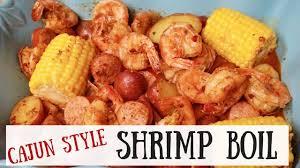 Cajun Style Shrimp Boil - YouTube