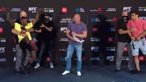 UFC - UFC 253 Main Card Face-Offs