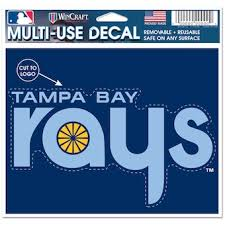 Official Tampa Bay Rays Car Decals Rays Auto Truck Emblems Mlbshop Com