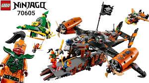 LEGO Ninjago 70605 Lắp Ráp Tàu Bay Hải Tặc Misfortune's Keep và ...