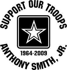 Army Logo Crest Custom Memorial Die Cut Vinyl Car Decal Designer Series Decals In Loving Memory Car Window Decals