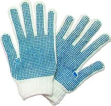 Innovative Blue Dot Lobster Gloves