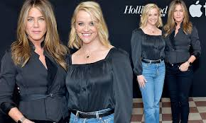 Jennifer Aniston and former Friends co-star Reese Witherspoon ...