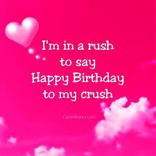 birthday crush quote quotesta