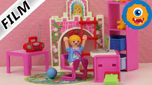 Playmobil Kids Room Hannah Has A New Room Sleeping Beauty Bed And Desk Building Youtube