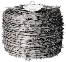 Red Brand 70481 Barbed Wire 12 1 2 Ga 1320 Ft L 4 Barbed Point Galvanized Steel Vorg7228299 70481