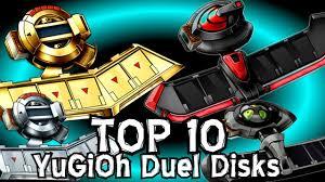 top 10 yugioh duel disks you