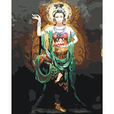 Tranh Tô Màu Theo Số Chủ Đề Phật Giáo