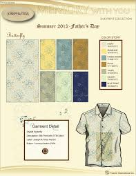 Presentation Board - Woven Silk Fabric design - Butterfly by ...