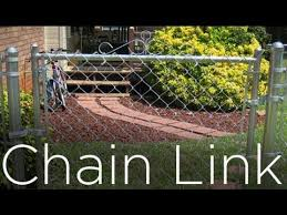 How To Install Chain Link Fence Part 1 Youtube