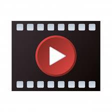 Botón de símbolo de reproductor de video | Vector Premium
