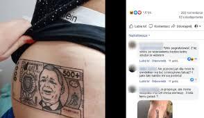 Tatuaz 500 W Internecie Zawrzalo Na Ten Widok O2 Serce Internetu