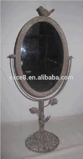 iron standing table decorative mirrors