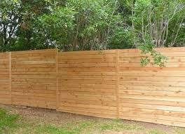 Horizontal Wood Fence Thin Pickets 8 Feet High Garden Fence Panels Privacy Fence Designs Fence Design