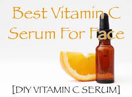 diy vitamin c serum and cream