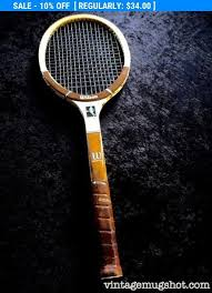 chris evert wilson wood tennis racquet