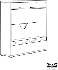 ikea besta boas aa 326647 6 user manual