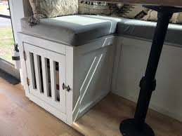 Ideas For Adding A Dog Crate Or Kennel To An Rv Rv Inspiration