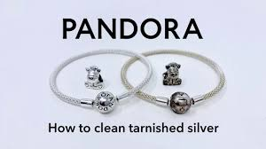 how to clean tarnished pandora silver